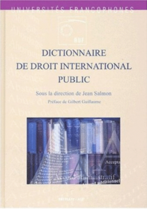 Dictionnaire de droit international public