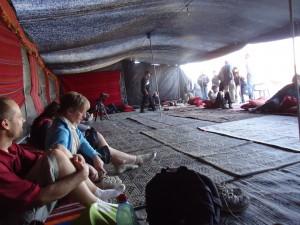 4. Lieu d'accueil d'un village bédouin