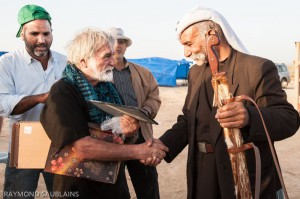 8. prés. SWB et Bedouin fraternisent