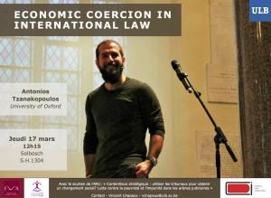 Antonios Tznakopoulos Economic coercion